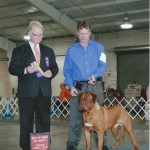 Tantor's 1st show 10 months old